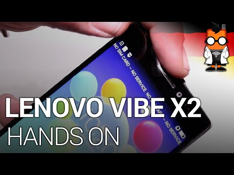 Lenovo VIBE X2 - Erstes True8Core Smartphone im Hands on [Deutsch]