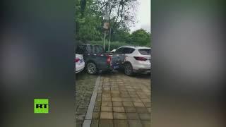 VIRAL: Las consecuencias de aparcar mal en China