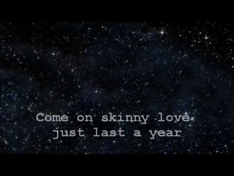 Lindsey Pavao - Skinny Love (studio Version) With Lyrics video