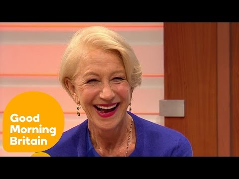 Dame Helen Mirren Gets Annoyed At Ben Shephard For Talking About Her Age | Good Morning Britain