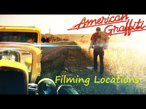 American Graffiti 1973 ( FILMING LOCATION )  40th anniversary