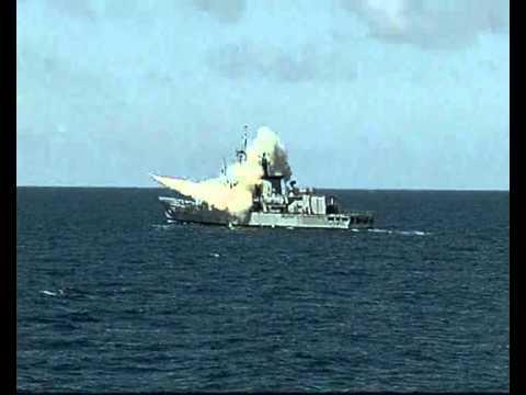 trayectoria Misil Otomat mk2 Marina de Guerra del Peru