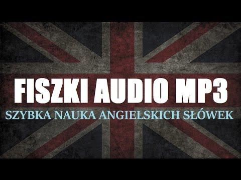 FISZKI AUDIO (MP3) Do Szybkiej Nauki Angielskich Słówek - Język Angielski Mp3