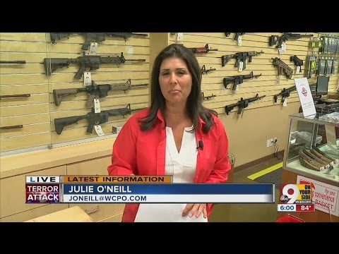 Massacre sends panicked public racing to buy guns, obtain concealed carry permits