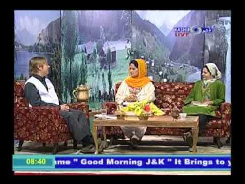 Interview Jj Fisher - Msf, Good Morning J&k, Local Tv Kashmir, India (ddk) video