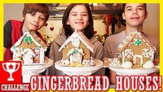 GINGERBREAD HOUSE CHALLENGE | KITTIESMAMA