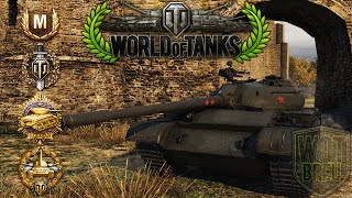 World of Tanks - T-54 - 12 Kills - 8.5k Damage - 1vs4 [Replay|HD]