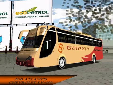 pack de autobuses