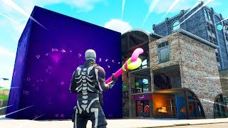 The Fortnite CUBE Is Destroying Tilted Towers Right Now..
