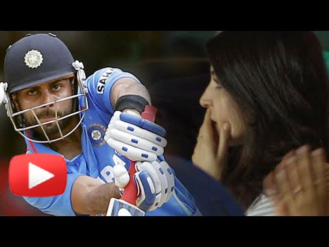 ICC World Cup 2015: Virat Kohli OUT, Anushka Sharma Unlucky for Virat?