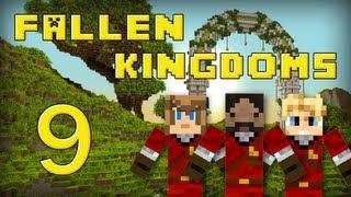 Fallen Kingdoms : Frigiel, Zelvac, Playfan | Jour 9 - Minecraft