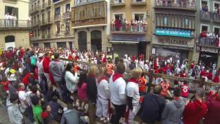 Pamplona, Spain, Running Of The Bulls, 13 & 14 July 2016