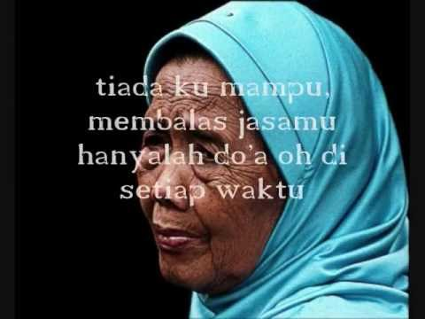 Rafly-lagu Ibu (lirik) video