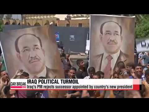 Iraq's PM rejects successor appointed by country's new president