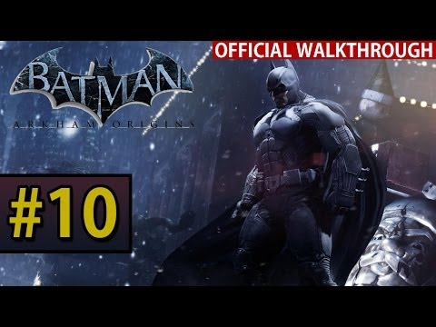 Batman Arkham Origins - Walkthrough Gameplay - Part 10 Burnley Sewers