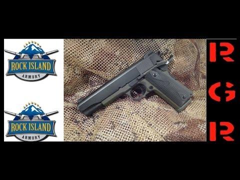 Rock Island Armory 1911 Tactical Review