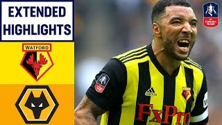 Hornets Seal THRILLING Comeback! | Watford 3-2 Wolves | Emirates FA Cup 18/19