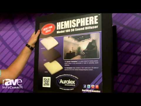 InfoComm 2014: Auralex Acoustics Shows the Hemisphere Sound Diffusor