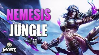 SMITE Ranked Conquest - Nemesis Jungle | Crazy Damage!