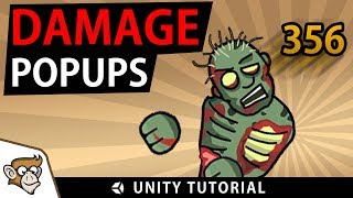 How to make Damage Popup Text (Unity Tutorial)