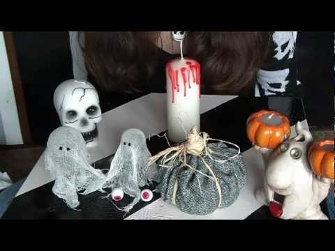 Easy cheap halloween crafts youtube Halloween decoration diy cheap