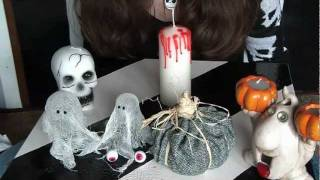 Three creative craft ideas | Candle decor | pumpkin decor | DIY simple ghost with white cotton cloth