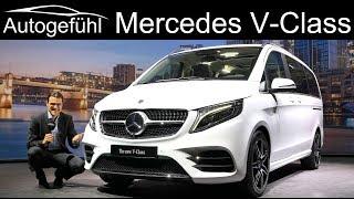 New Mercedes V-Class & Marco Polo REVIEW Exterior Interior Facelift V-Klasse 2020 - Autogefühl