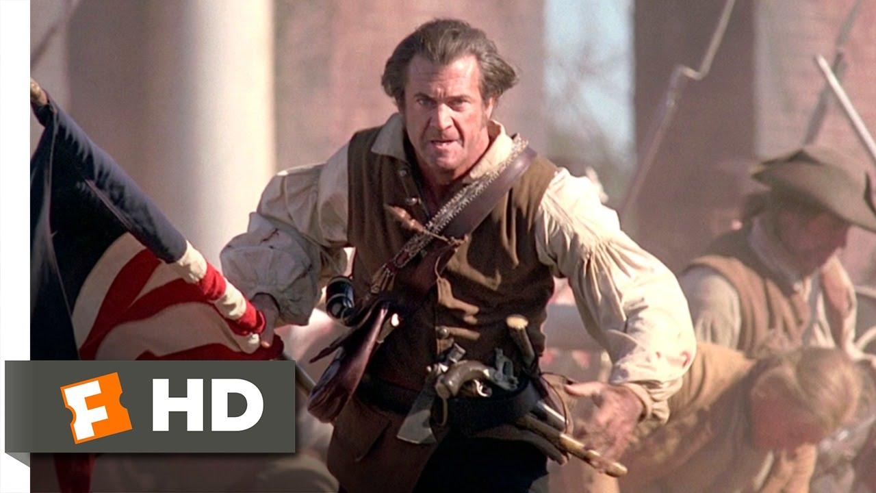 the patriot 78 movie clip benjamin fights tavington