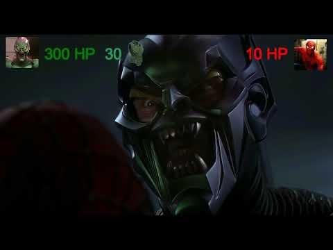 Человек-паук VS Зелёный гоблин с хэлспоинтами