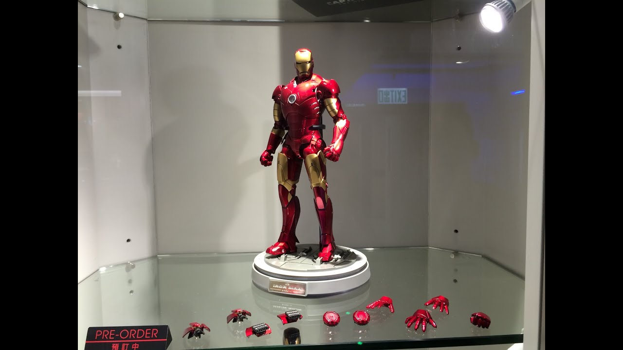 Safety First Toys First Look Hot Toys Iron Man