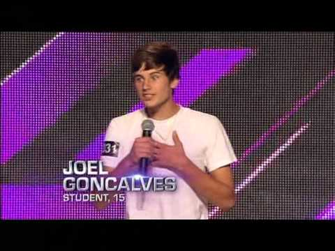 Joel Goncalves - Auditions - The X Factor Australia 2012 night 2 [FULL]