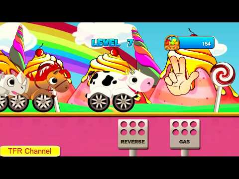 Animal Cars Kids Racing Game: All Animals CarPart 1/Game For KidsNursery Rhymes Songs For Children