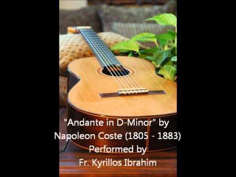 Napoleon Coste - Andante in D Minor