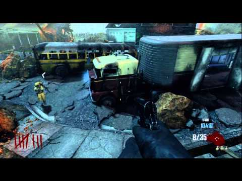 Black Ops 2 Nuketown Zombies Easter Egg Song - 3 Teddy Bear Locations