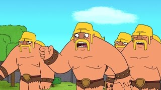 Clash-A-Rama The Series: Ballad Of The Barbarian