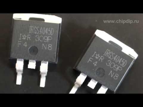 IRGR4045DPbF и IRGS4045DPbF-новые модели IGBT ...