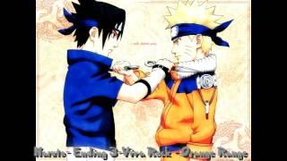 Naruto - Ending 3 - Viva Rock - Orange Range