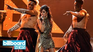 Download Lagu Camila Cabello Teases 'Havana' Feat. Young Thug | Billboard News Gratis STAFABAND