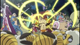 One Piece - Straw Hats Vs Sutchies [HD]