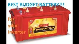 Exide Inverter Battery unboxing & details