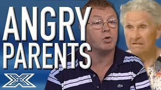SUPER ANGRY PARENTS Turn On The Judges! | X Factor Global