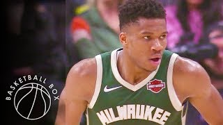 [NBA] Milwaukee Bucks vs Los Angeles Clippers, Full Game Highlights, November 6, 2019