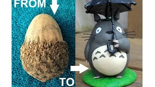 Make Totoro From An Acorn!