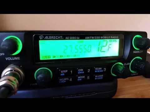 Albrecht AE-5890EU SSB Receive