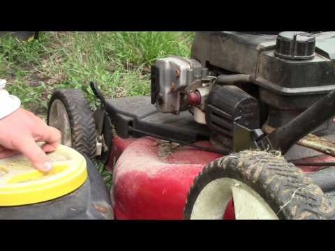 HOW TO repair a Pull Cord on a Tecumseh Lawnmower