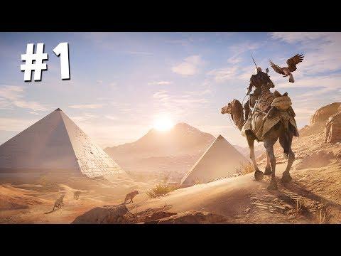 АССАССИН в ЕГИПТЕ!! (Assassin's Creed: Origins Прохождение #1)