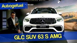 Mercedes GLC 63S AMG SUV REVIEW Exterior Interior Facelift 2020
