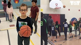 Raptors Fan With Autism Scores Basket Thanks To Teammates