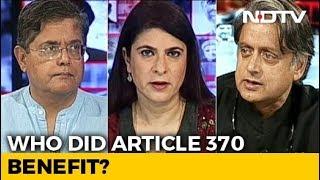 Kashmir Move A Turning Point In History? Shashi Tharoor, Jay Panda Debate
