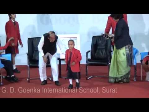 G. D. Goenka International School-surat, An Interactive Session With Kautilya Pandit video